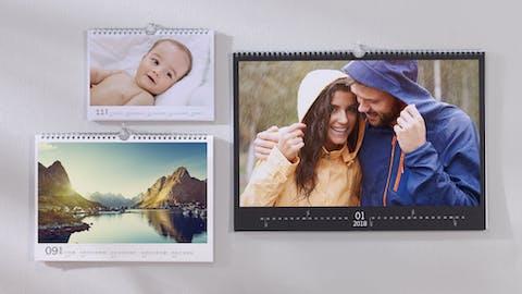 De la créativité dans votre calendrier photo