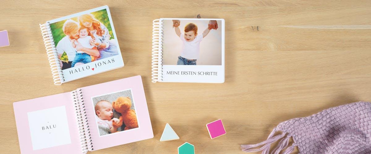 Ideen für dein Babyalbum