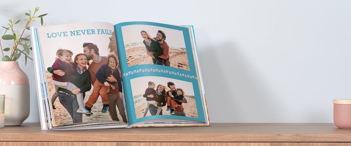 Sonderzeichen im Pixum Fotobuch