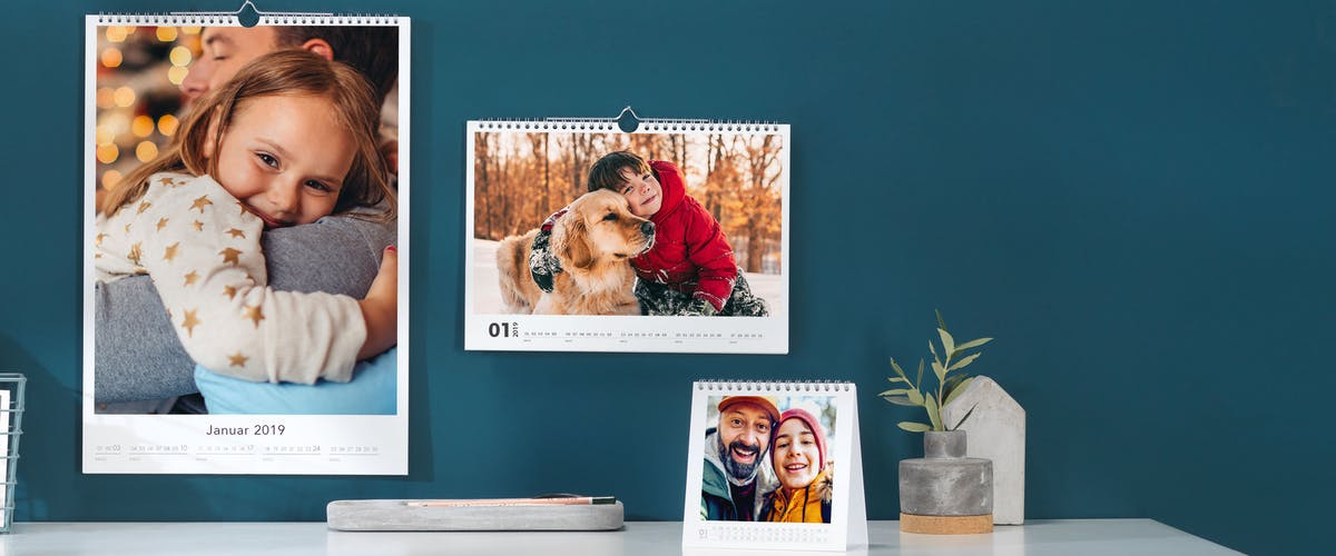 20% discount on your photo calendar