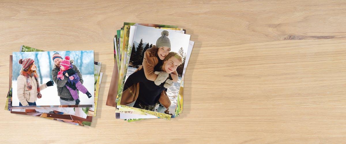 Matte & glänzende Fotos entwickeln