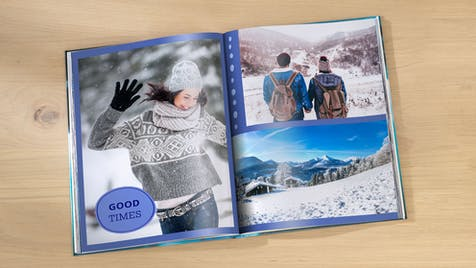 Fotobuch Hochformat