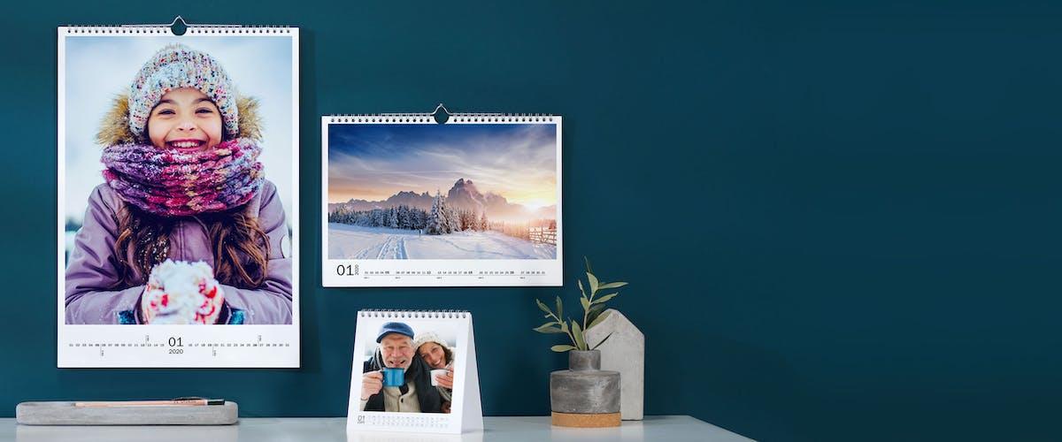 Crea online il tuo Calendario dell'anno personalizzato