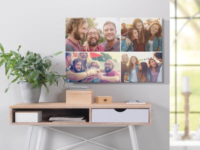 Crea collage su poster online con Pixum