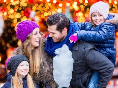 Tag flotte familiebilleder til jul