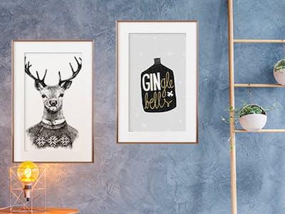 Weihnachtliche Wandbilder von der artboxOne