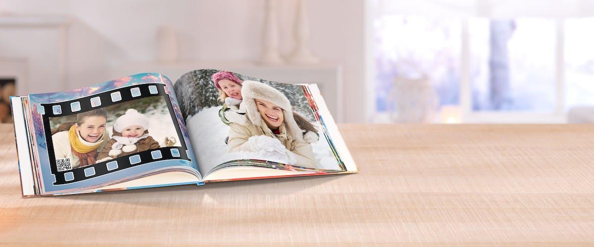 Video im Fotobuch einfügen
