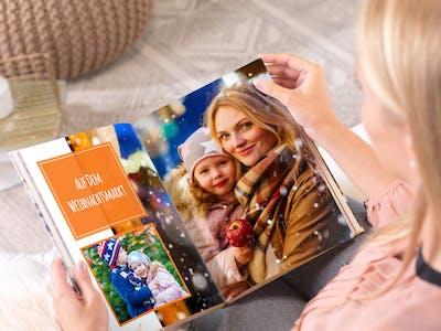 Gestalte dein Fotoalbum als kreativen Adventskalender mit schönen Erinnerungen aus dem Jahr!