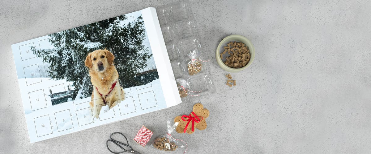 Custom non-chocolate Photo Advent Calendars