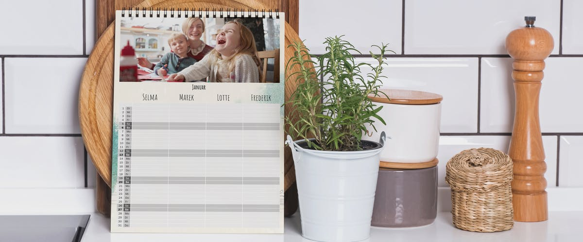 Make your own family planner