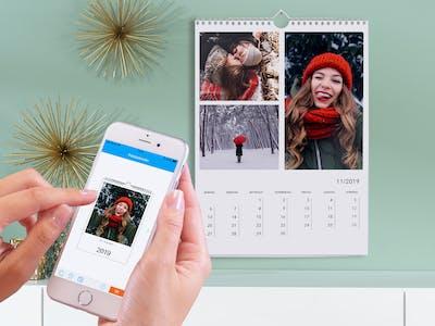Fotokalenderbestellung per App