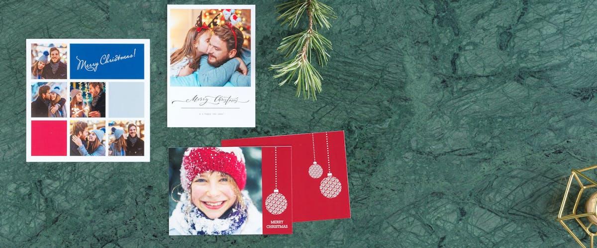 Cartoline di Natale personalizzate