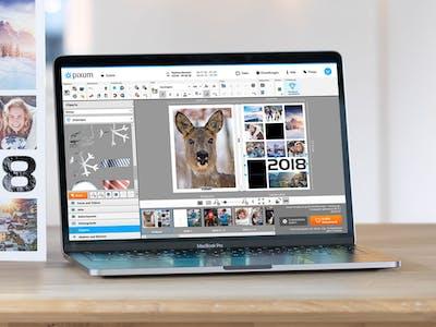 Livre photo Pixum dans le logiciel
