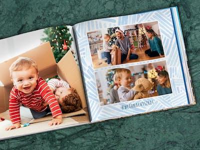 Mit der Pixum Fotowelt Software gestaltest du ganz leicht dein persönliches Fotobuch als Gutscheinheft.