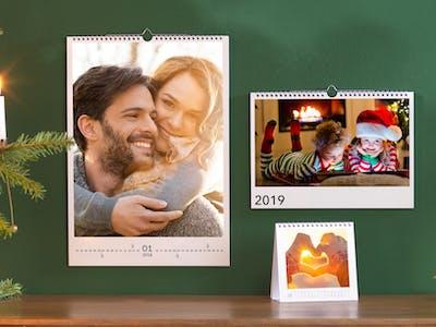 Verschenken Sie zu Weihnachten einen Fotokalender mit den schönsten Familienfotos des Jahres!