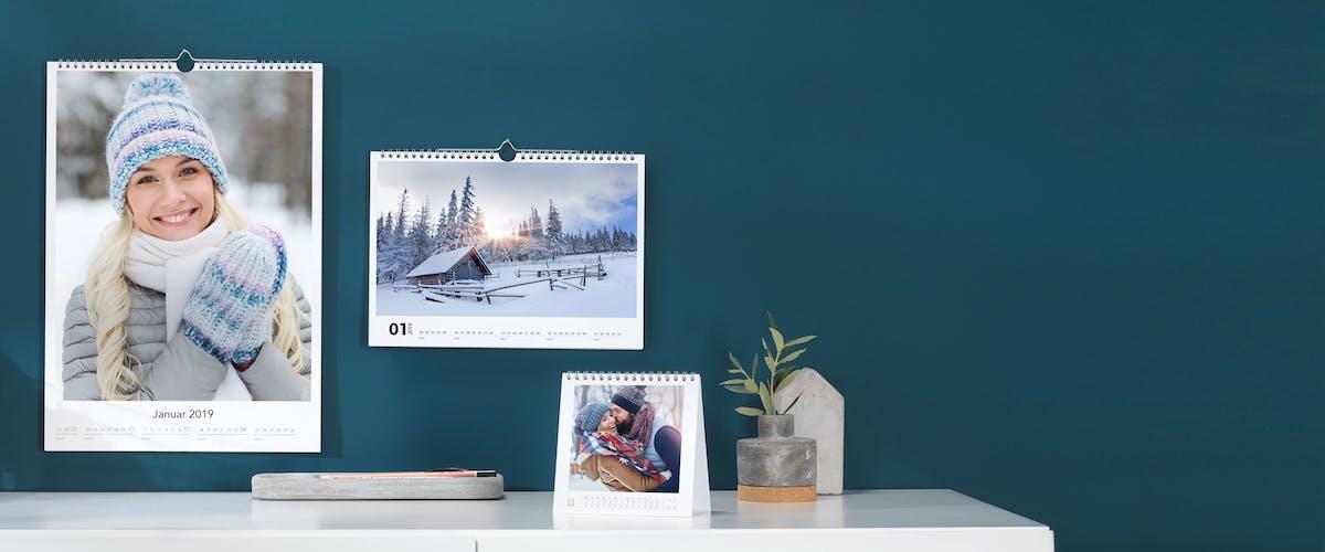 20% OFF Photo Calendars