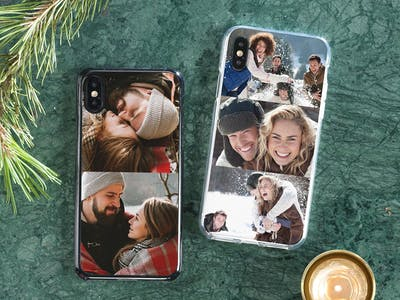 Pixum Handyhülle mit weihnachtlichem Motiv