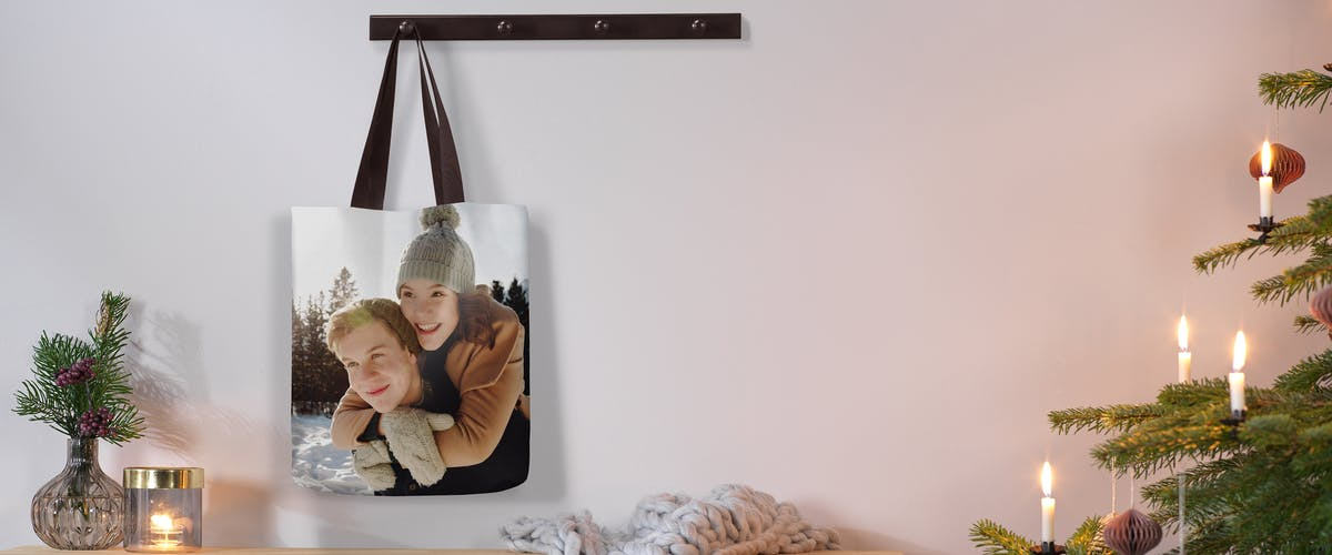 Foto-Tragetasche online designen