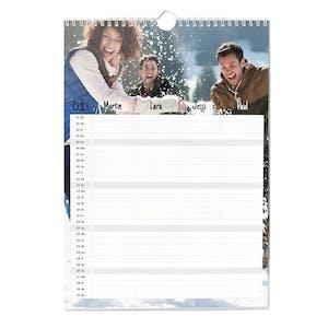 Planlægnings-<br>kalender