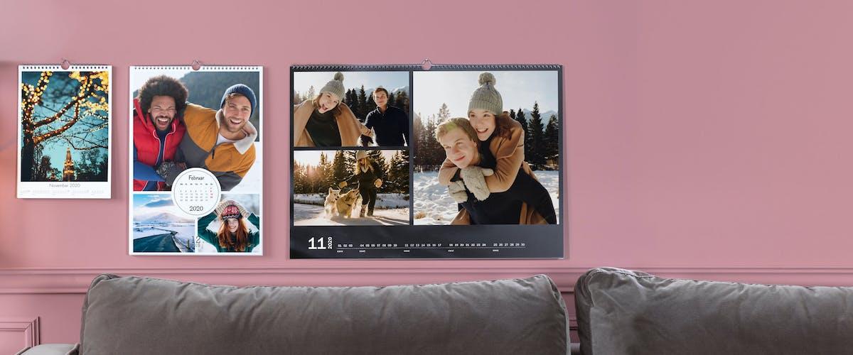 Inspiration pour votre calendrier photo Pixum