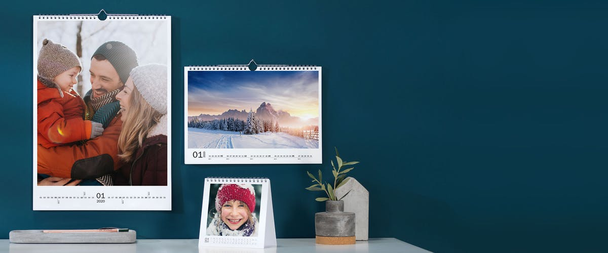 Pixum Fotokalender selber basten
