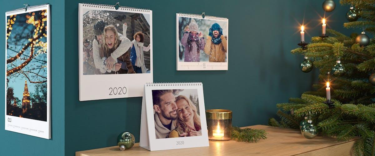 Trouvez l'inspiration pour vos calendriers photos