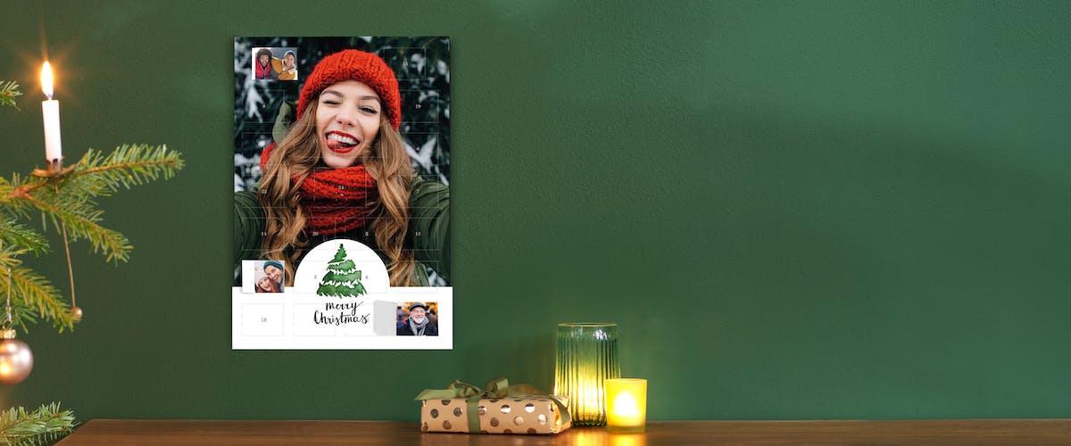 Lav en julekalender uden chokolade & med eget foto