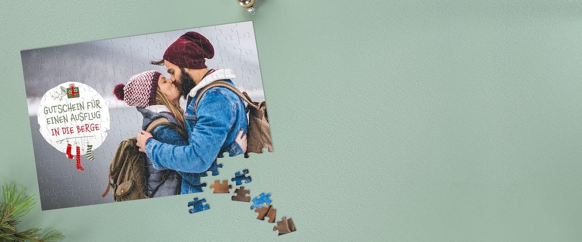Gutschein-Puzzle selbst designen