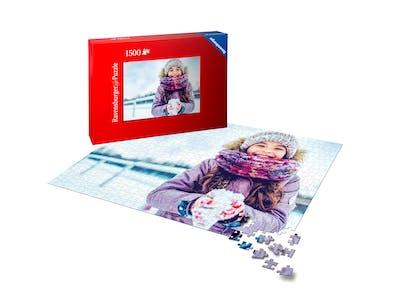 Überlege dir bei der Motivwahl für deine Fotopuzzle-Collage, wie kleinteilig es werden soll.