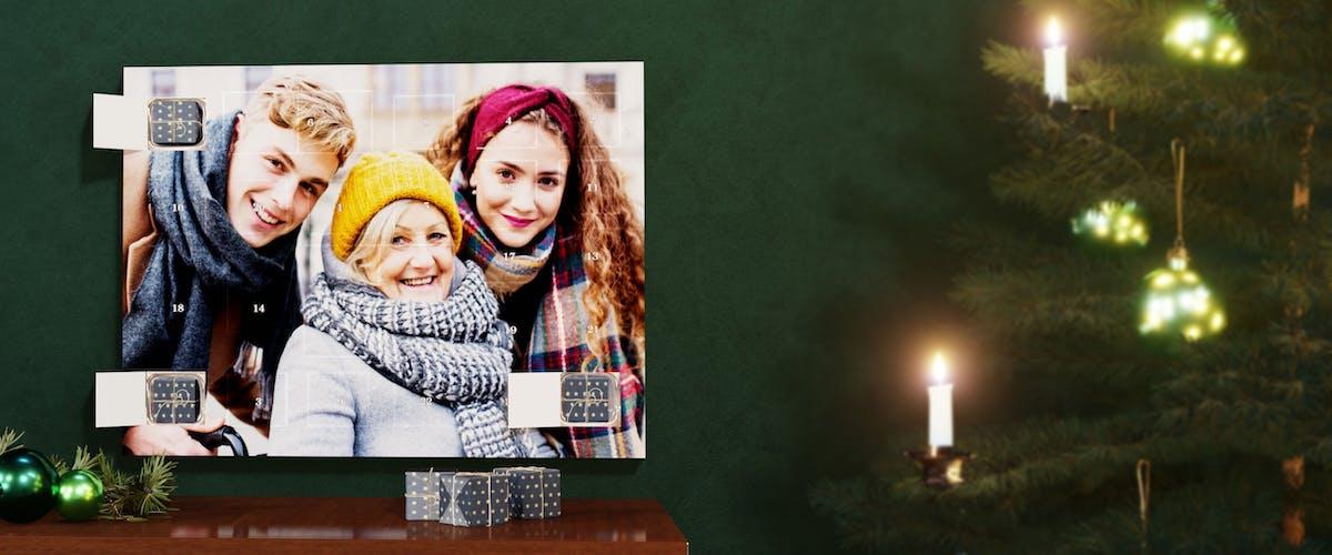 Photo Advent Calendar (fill it yourself)