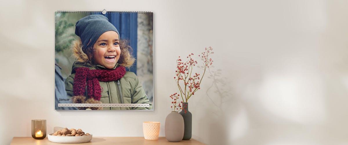Perfekte Bildqualität für den Fotokalender