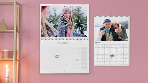Kreativ werden mit Pixum Fotokalendern