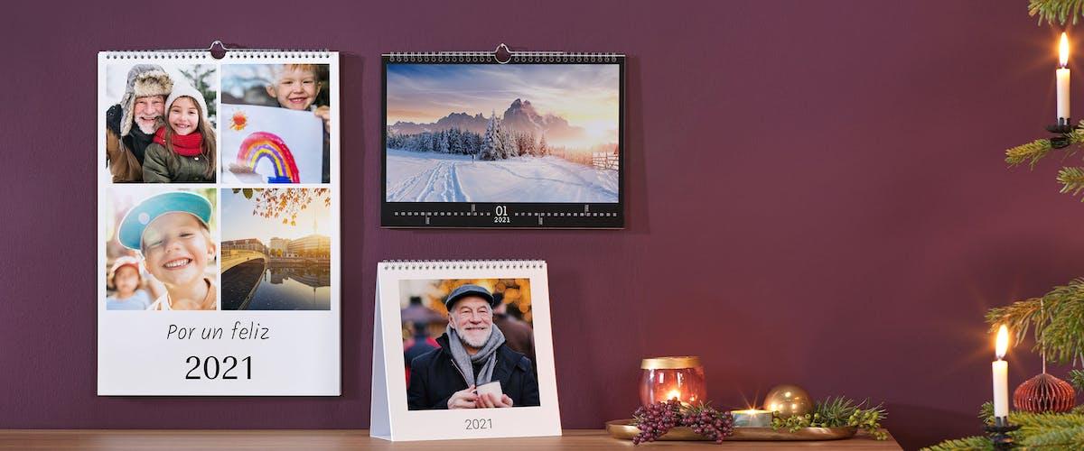Calendarios con tus fotos