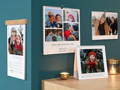 Pixum Fotokalender zu Weihnachten