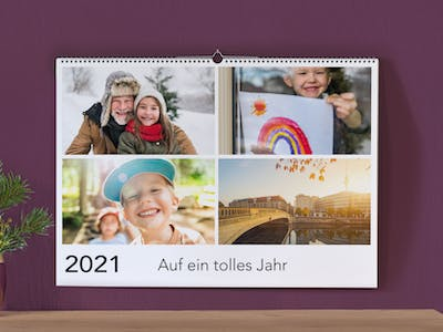 Fotokalender mit Collage