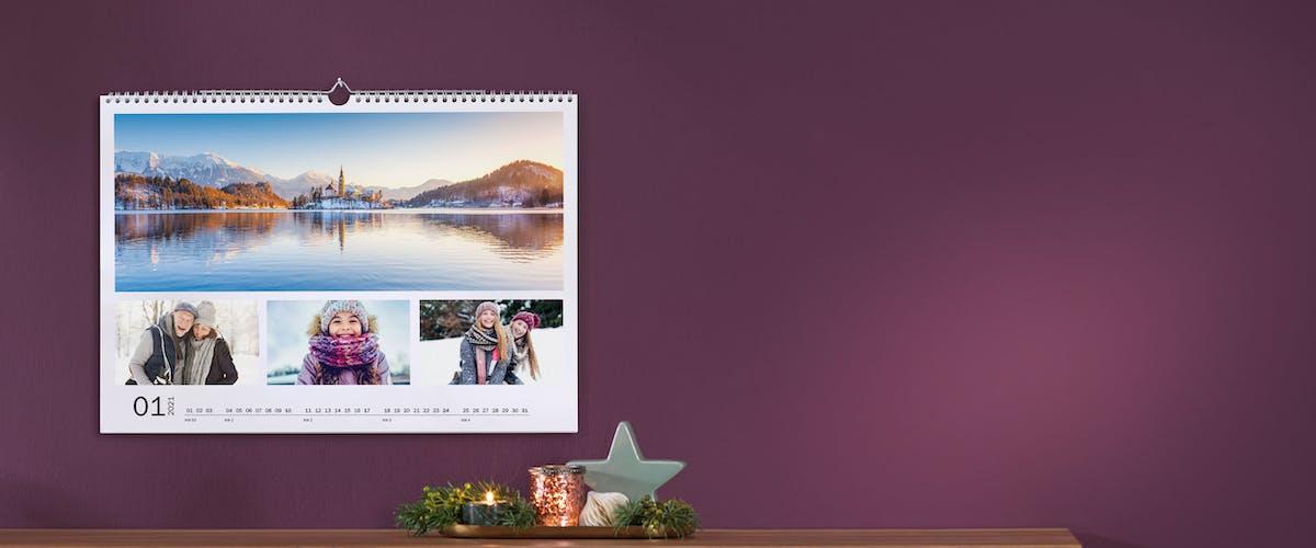 Schnelle Lieferung des Fotokalenders