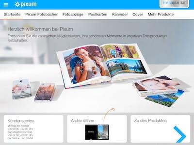 Nachbestellung über die Pixum Fototwelt App