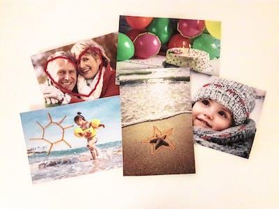 Foto-Stickkarten einfach selbst gemacht