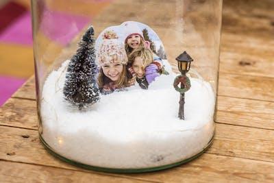 Zauberhafte Winterlandschaft für daheim