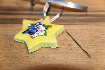 Geschenkanhänger aus Salzteig - zu Weihnachten selbst gemacht