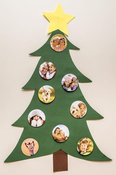 Schritt f�r Schritt zum DIY Foto-Weihnachtsbaum