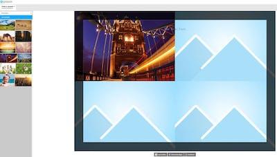 Eigene Fotocollagen bequem im Online-Designer gestalten