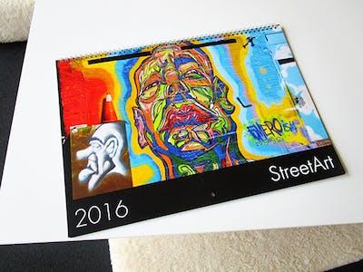 Streetart New York als Fotokalender