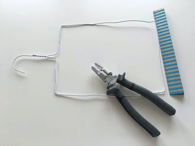 Schritt 3 und 4: Weiter biegen und Rechteck bilden