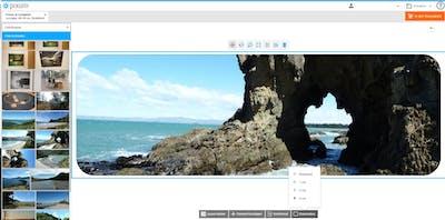 Runden Sie die Ecken Ihres Wandbildes einfach ab - direkt im Online-Designer.