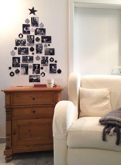 Decorazioni Natalizie Con Foto.Decorazioni Con Foto In Bianco E Nero Fai Da Te Pixum