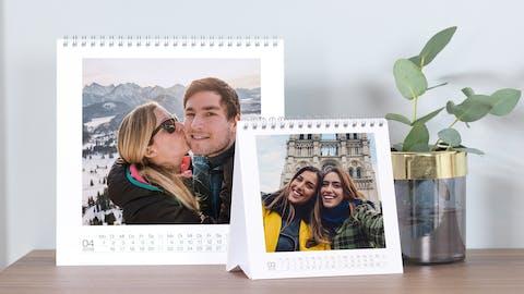 Foto-Aufsteller als Kalender gestalten
