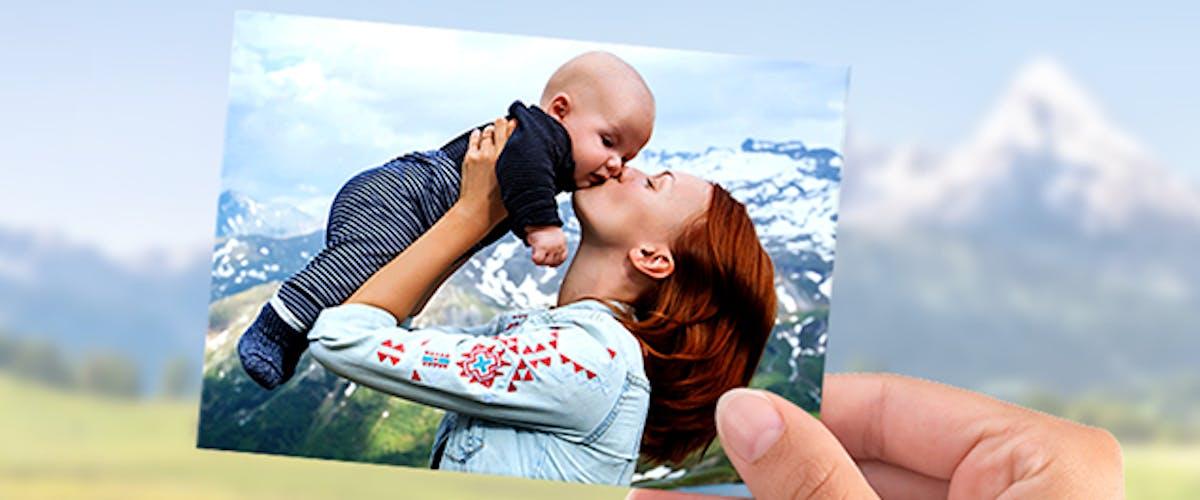 Pixum Fotobuch mit Postkarten
